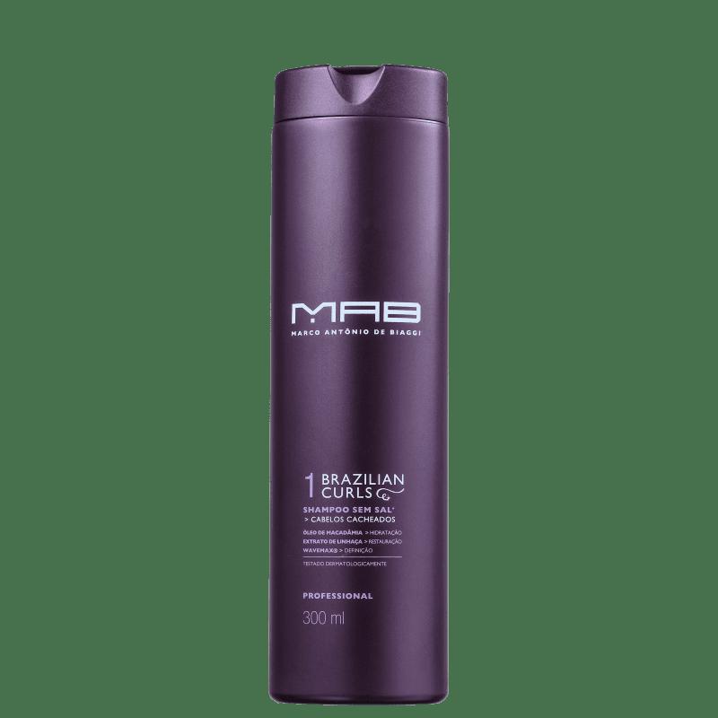MAB Marco Antônio de Biaggi Brazilian Curls - Shampoo 300ml