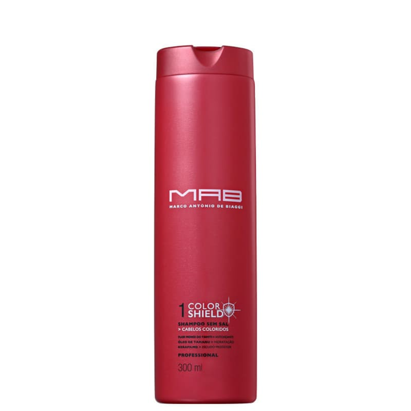 MAB Marco Antônio de Biaggi Color Shield - Shampoo sem Sal 300ml