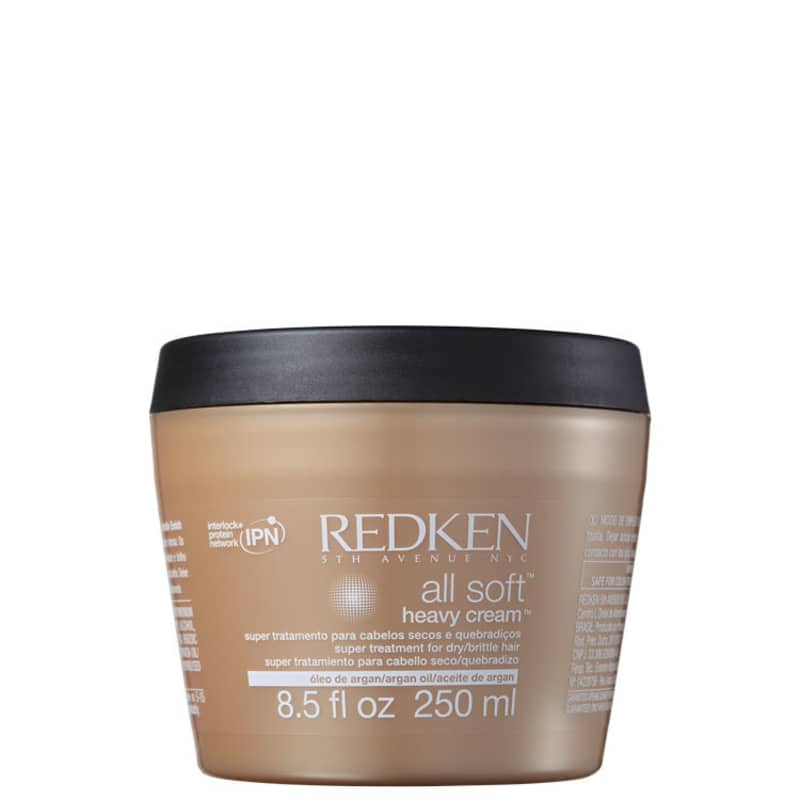 Redken All Soft Heavy Cream - Máscara de Hidratação 250ml