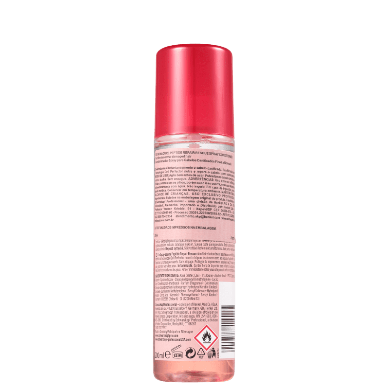 Schwarzkopf Professional BC Bonacure Peptide Repair Rescue - Spray Leave-in 200ml