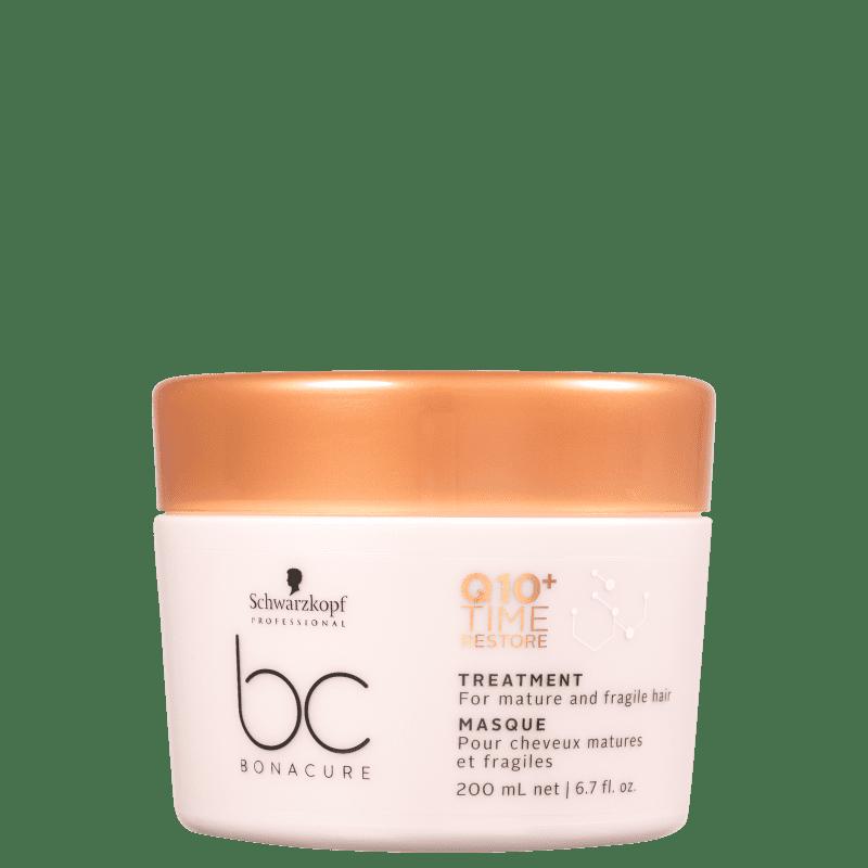 Schwarzkopf Professional BC Bonacure Q10+ Time Restore - Máscara Capilar 200ml