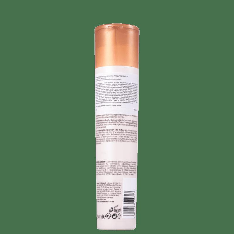 Schwarzkopf Professional BC Bonacure Q10+ Time Restore - Shampoo 250ml