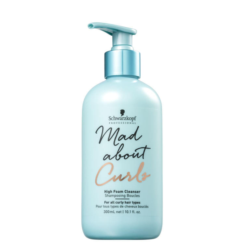 Schwarzkopf Professional Mad About Curls High Foam Cleanser - Shampoo sem Sulfato 300ml