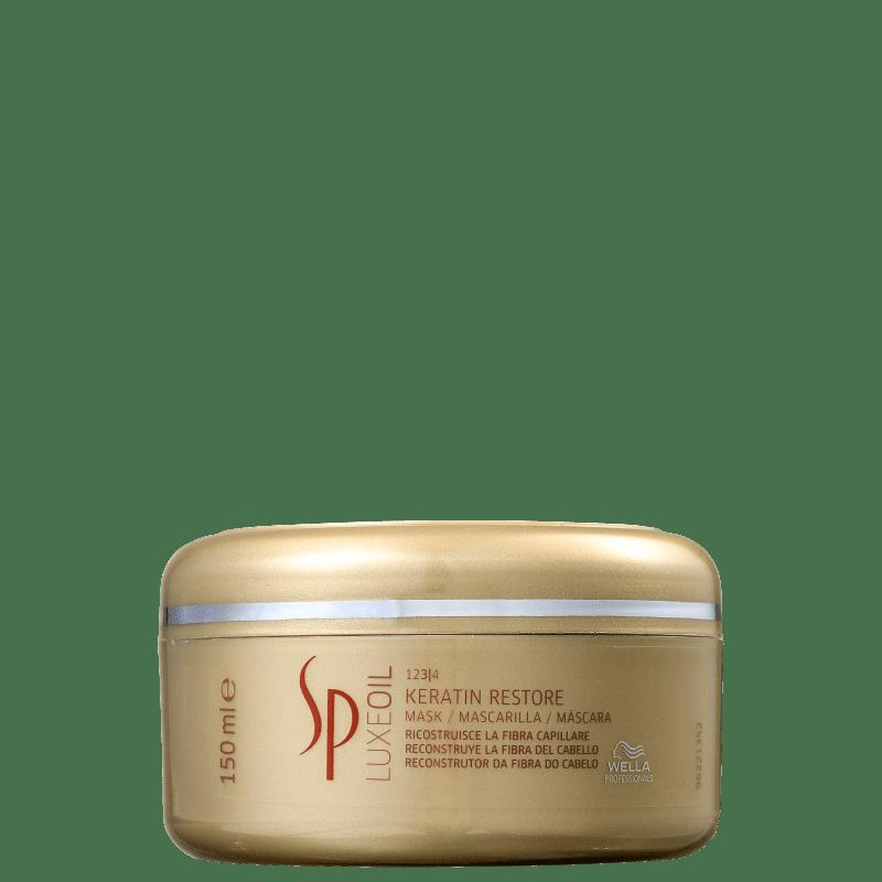 SP System Professional Luxe Oil Keratin Restore - Máscara Capilar 150ml