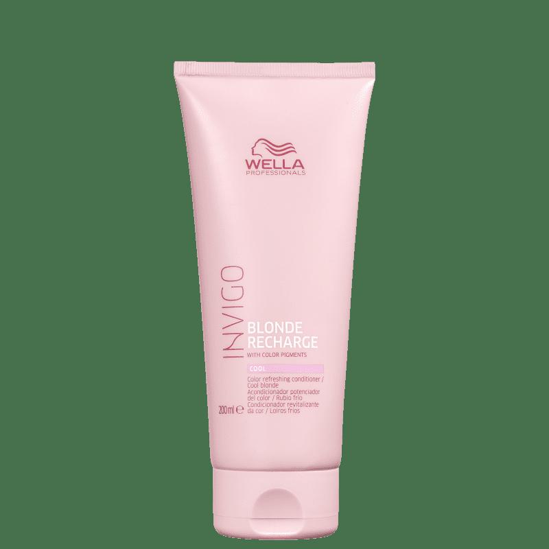 Wella Professionals Invigo Blonde Recharge - Condicionador Desamarelador 200ml