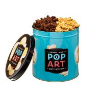 Lata Pop Art - 2 Sabores