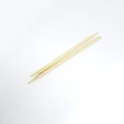 Palito de Bambu Descartável  para Unhas com Ponta e Chanfro - 50 unidades