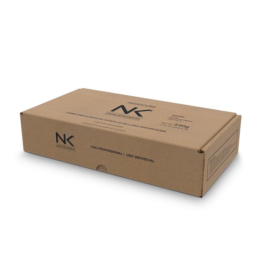 Caixa Econômica NK Manicure 30 pares Luvas com Creme Emoliente