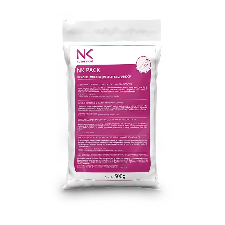 NK Pack Manicure com 25 pares - Caixa com 04 Pacotes