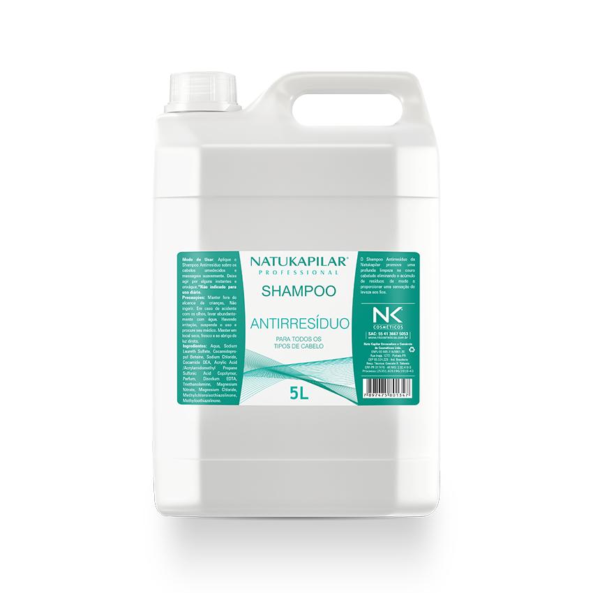 Shampoo Antirresíduo 5L - Caixa com 04 Galões