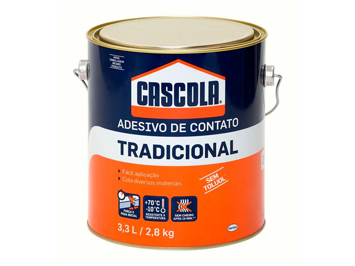 Cascola Tradicional Sem Toluol 2,8kg