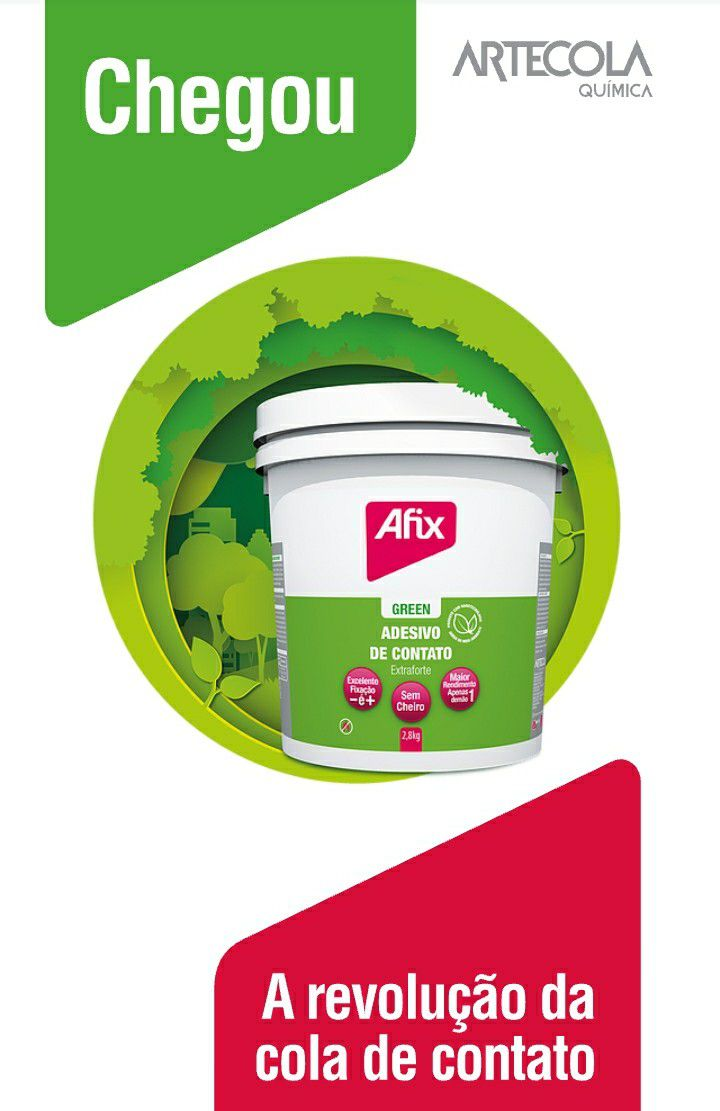 COLA DE CONTATO AFIX GREEN 1KG