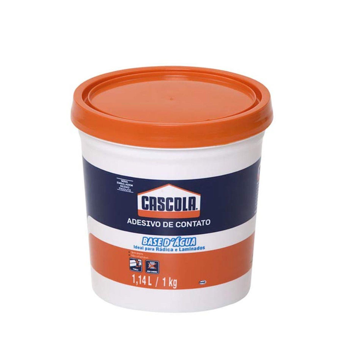 Cola de Contato Base D'água 1,0 Kg Cascola Henkel