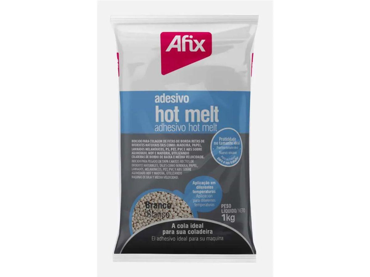 Cola Hot Melt Branca Baixa Temperatura Afix 1824 para Coladeiras de Bordas 01 Kg - Artecola