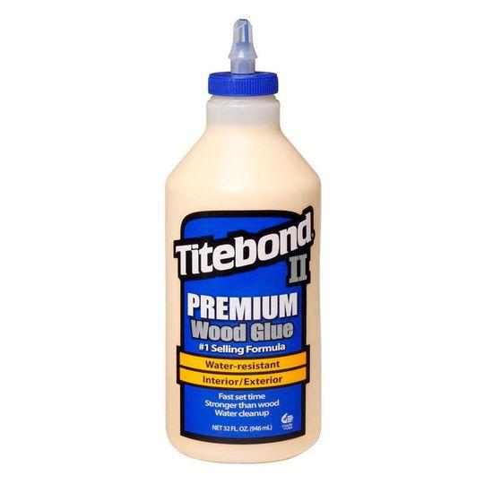 Cola para Madeira II Premium Wood Glue - Titebond - 946 ml