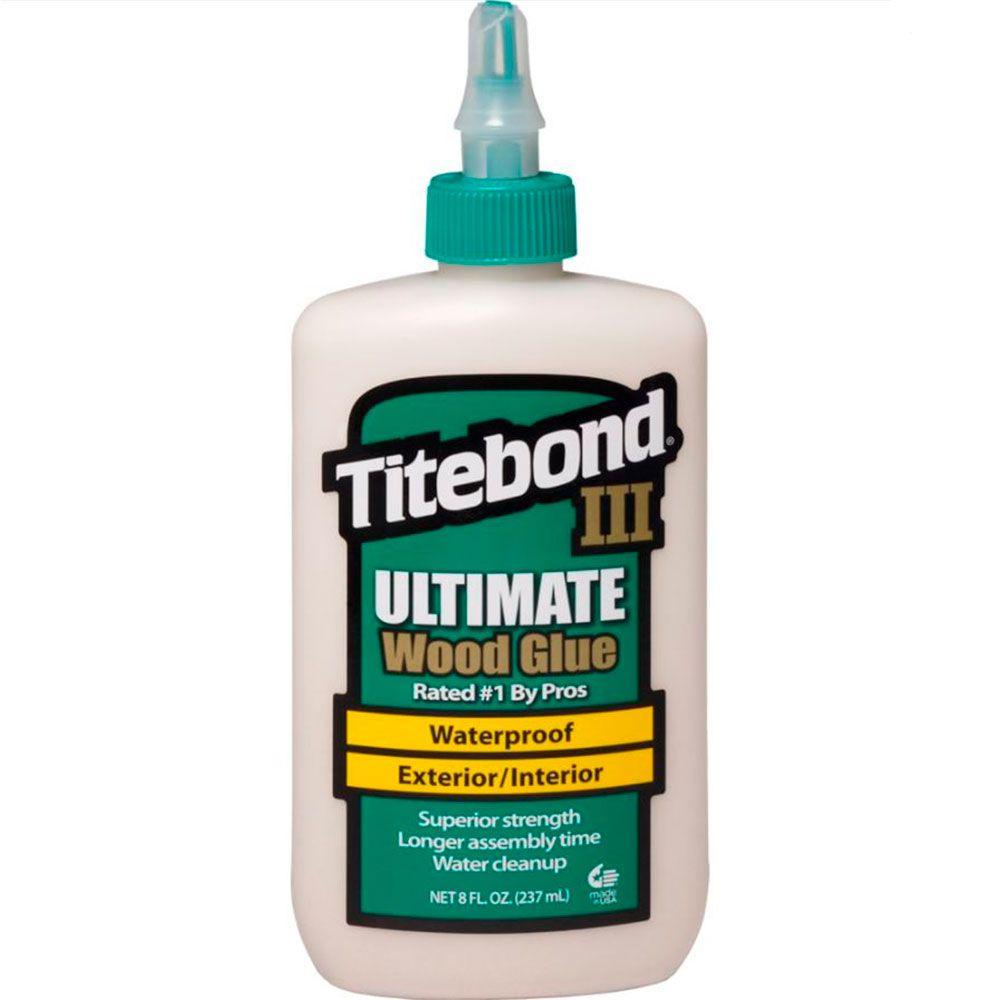 Cola para Madeira III Ultimate Wood Glue - Titebond 236 ml