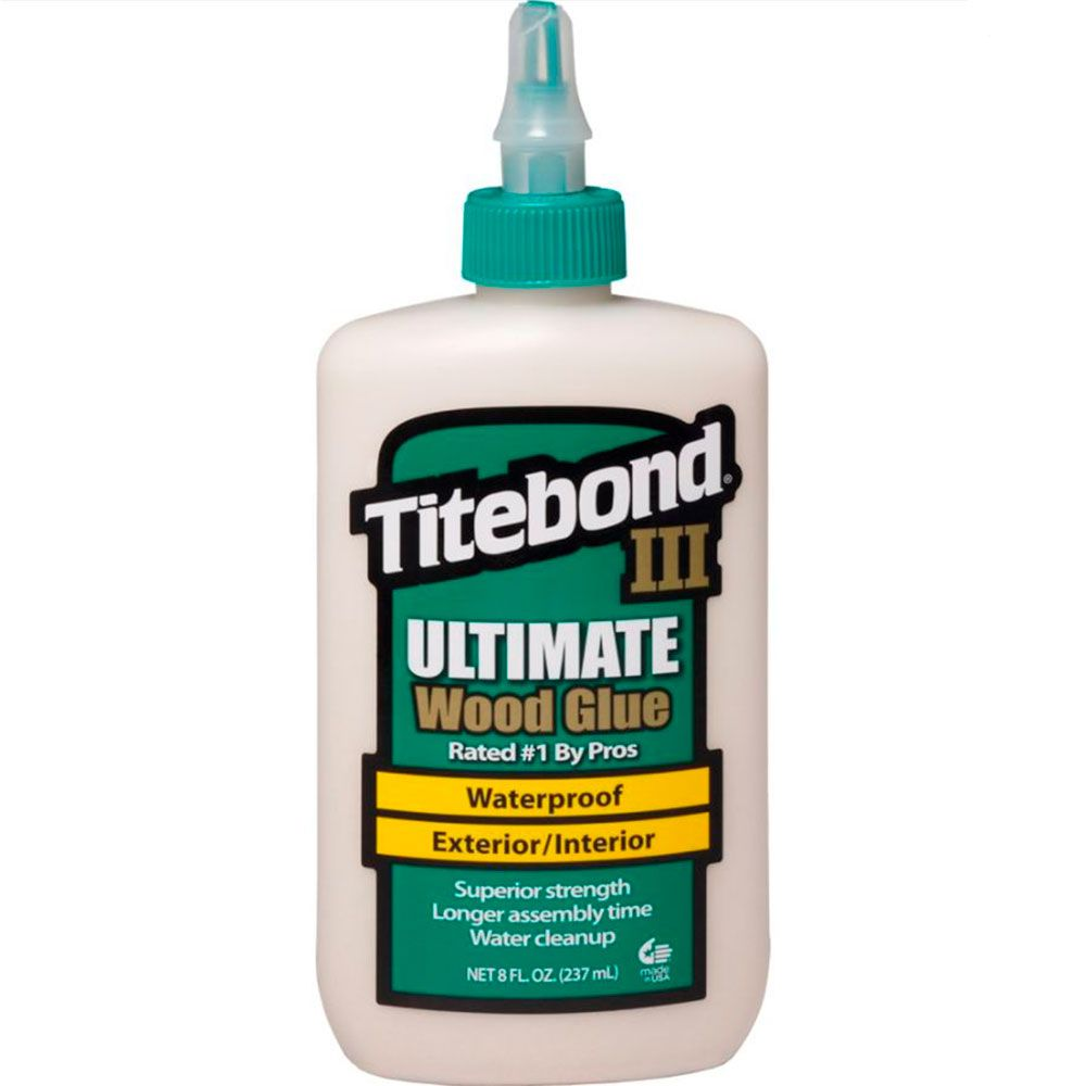 Cola para Madeira III Ultimate Wood Glue - Titebond 236 ml