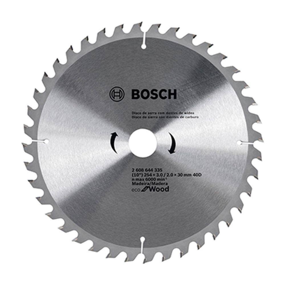 Disco de Serra Bosch 254mm x 40D