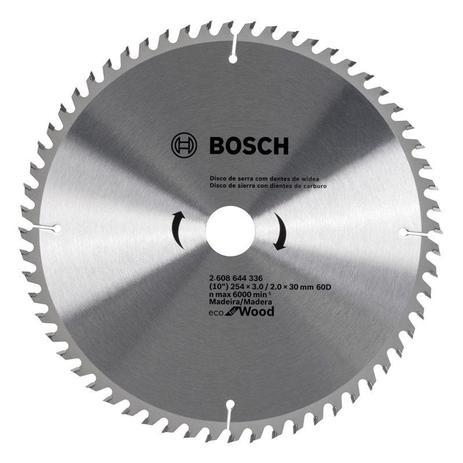 Disco de Serra Bosch 254mm x 80D