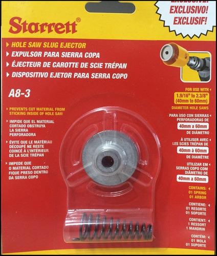 Ejetor para Serra Copo Starrett A8-3 - 40 a 60mm