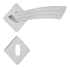 Fechadura Aliança Diamante 4013 WC - Cromado - 40mm
