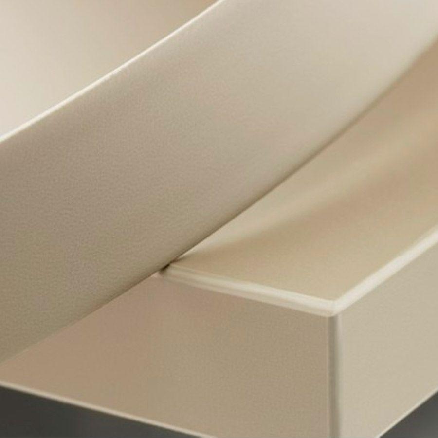Fita de Borda PVC  Branco Texturizado