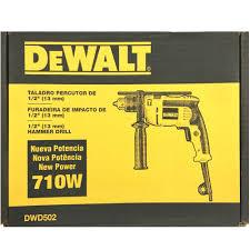 FURADEIRA DE IMPACTO DWD502B2 - DEWALT - 220V - 710W