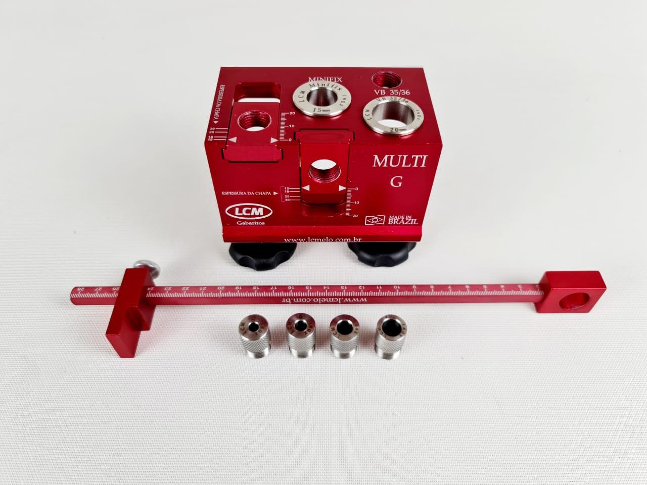 Kit Gabarito Multi G - LCM