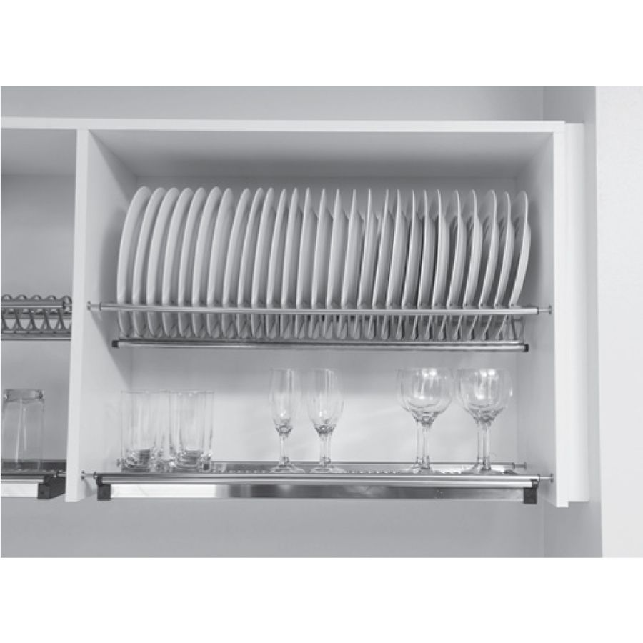 Kit Escorredor de Louças TN Base 900 - 36 pratos