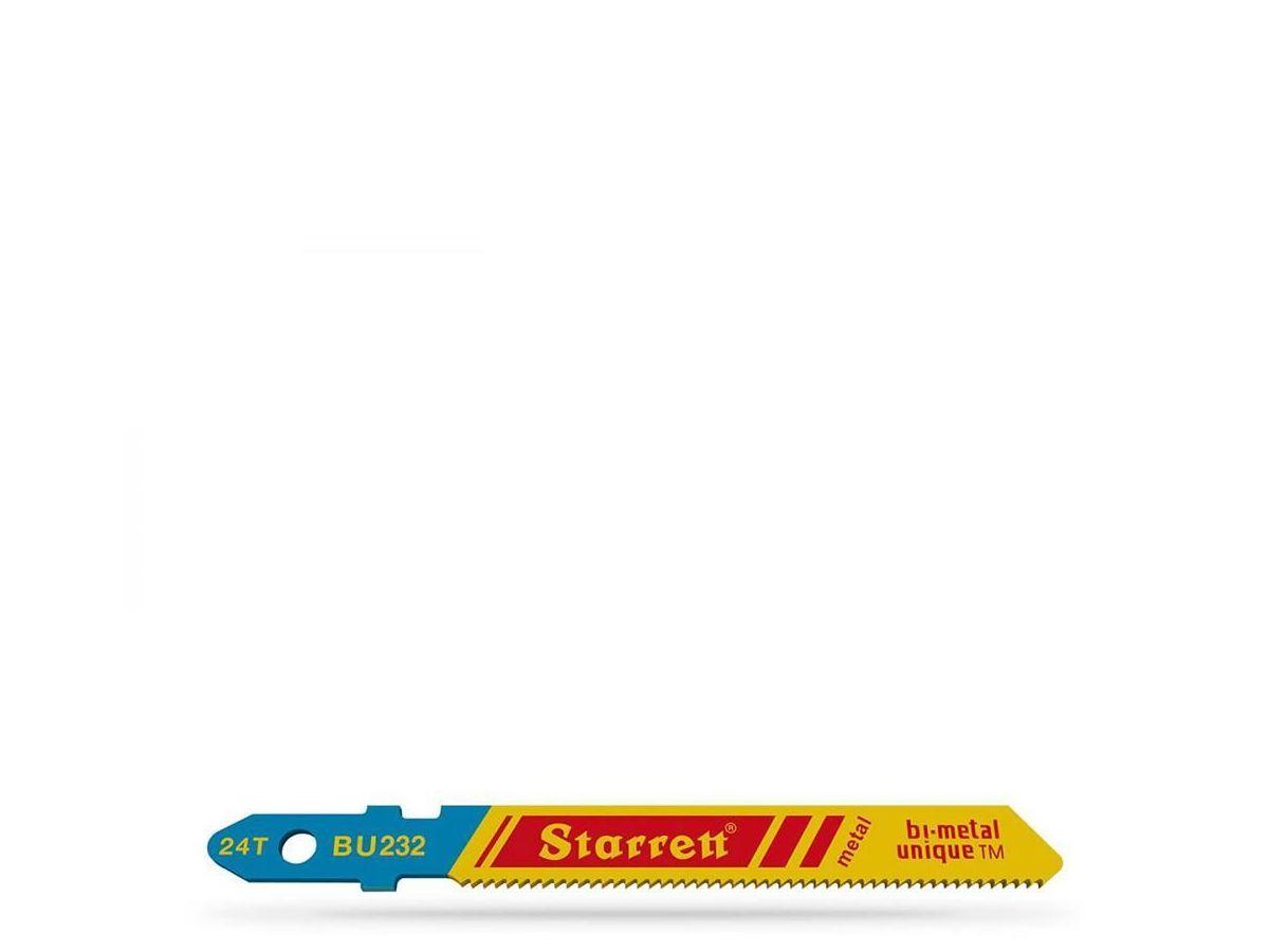 Lâmina Tico Tico C/ 5 Peças BU232 50mm Starrett
