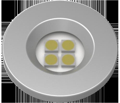 Luminária Pontual Circular D35 Super 4 LED - Nuze