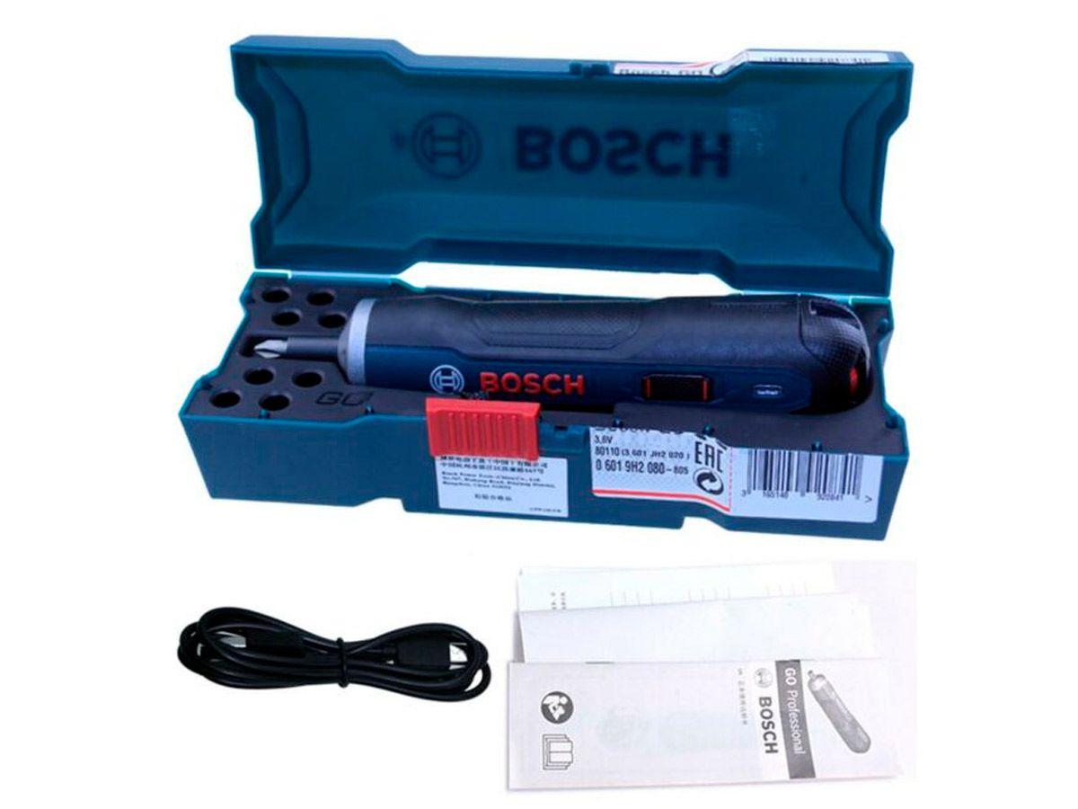 Parafusadeira Bateria 3,6V Go Bosch
