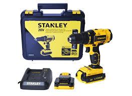 Parafusadeira e Furadeira Stanley c/02 baterias Ion Litio 20v