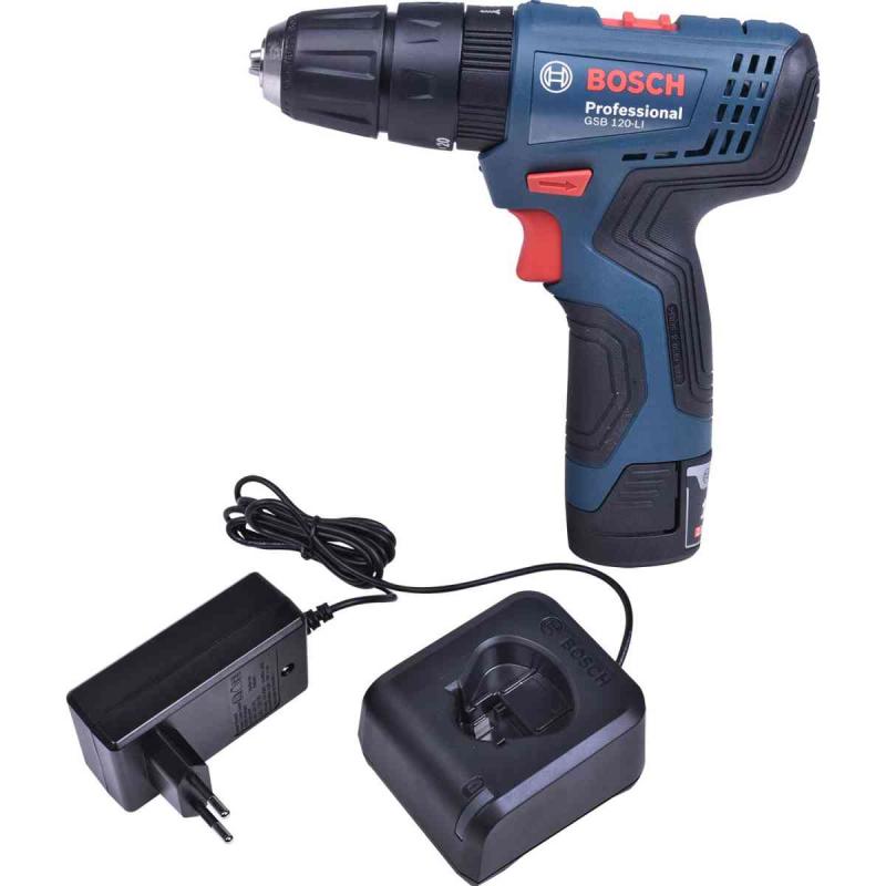 Parafusadeira/Furadeira Bosch GSR-120 LI