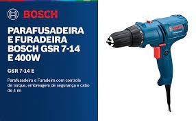 PARAFUSADEIRA/FURADEIRA BOSCH GSR 7-14E 110V