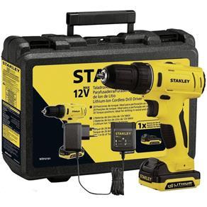Parafusadeira/Furadeira Stanley 12V - C/ 02 baterias