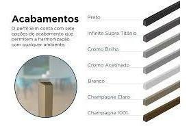 Puxador Rometal Slim 300MM