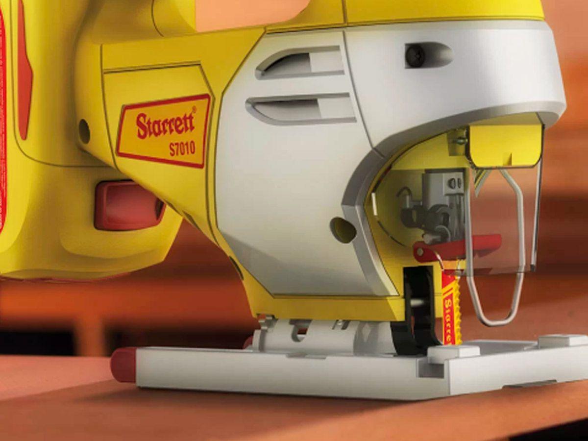 Serra Tico Tico à Bateria 2,0Ah 20V com Bolsa e Carregador - STARRETT-S701