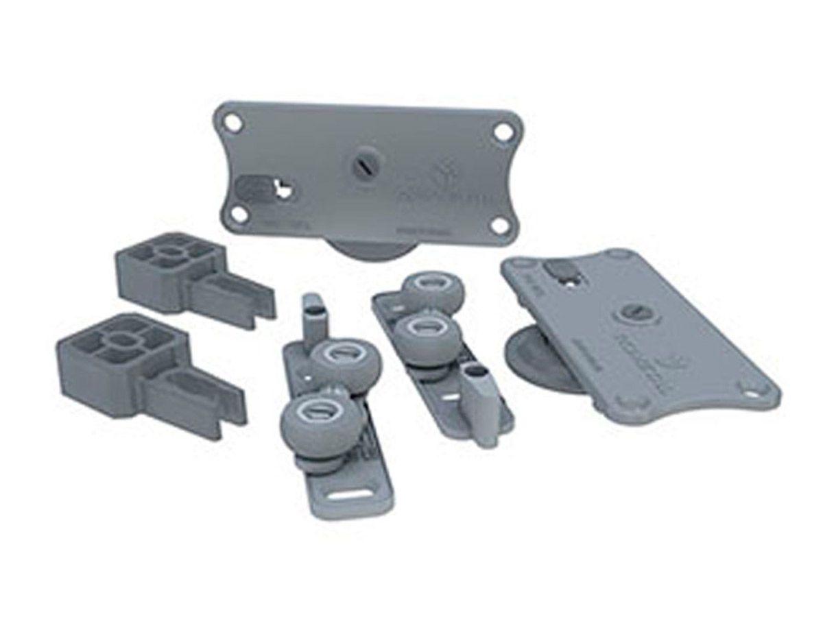 Sistema Deslizante p/01 porta RO-654030 Universal - ROMETAL 60kg