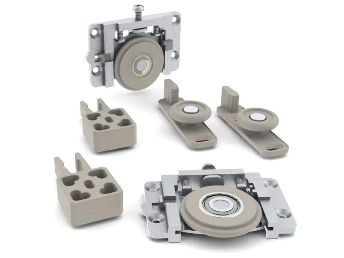 Sistema Deslizante para 1 porta RO-654013 ROMETAL 60Kg