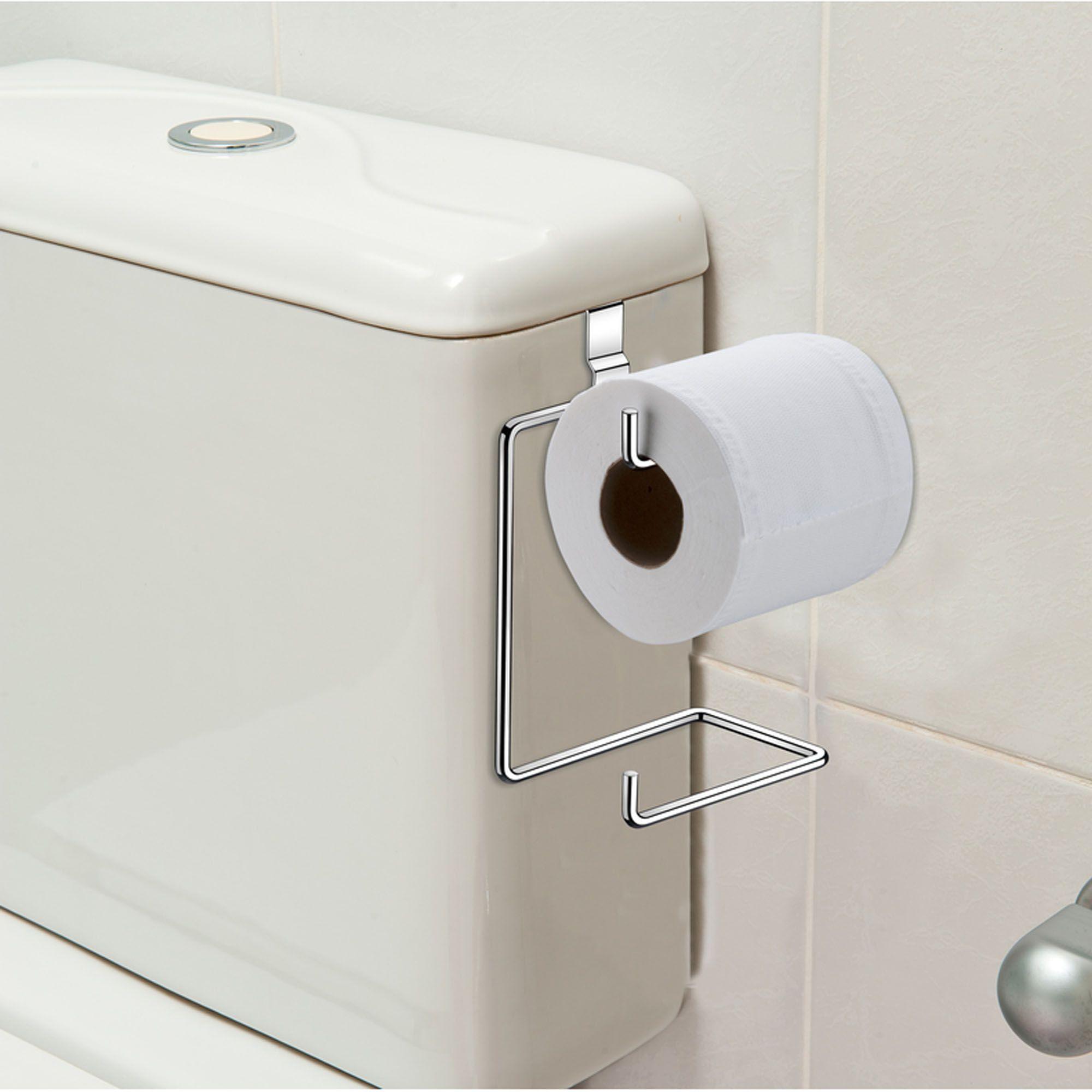 Suporte Duplo de Papel Higiênico para Caixa Acoplada - FUTURE