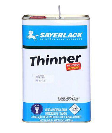 Thinner Profissional 5L DN4288 - SAYERLACK