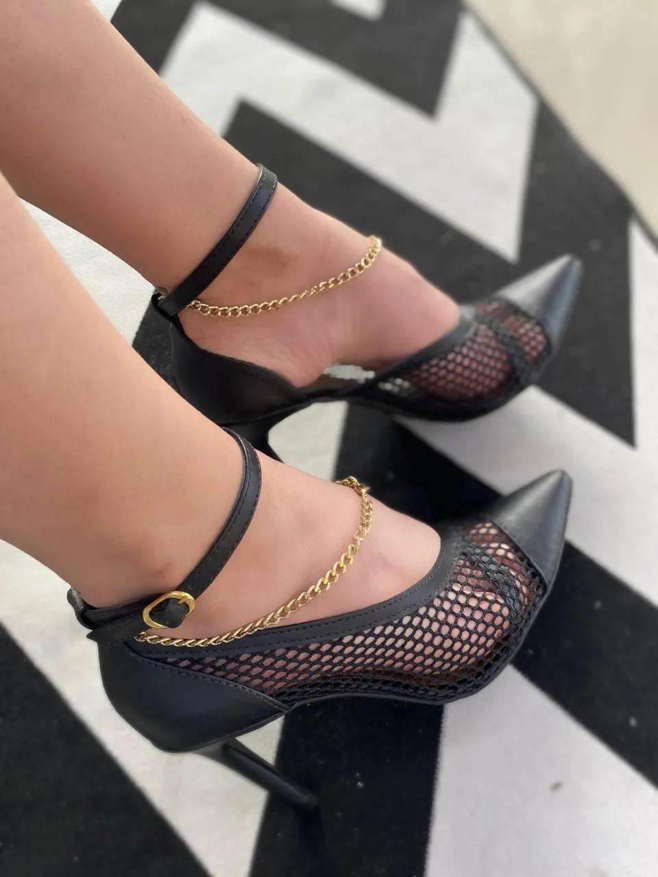 Sapato Suzana Santos Scarpin Ref:364563070-20