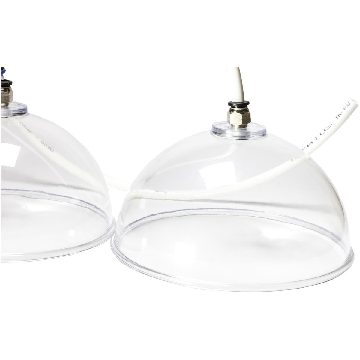 Kit Ventosas Pump Up Para Glúteos 16cm E 19cm - Vacuoterapia