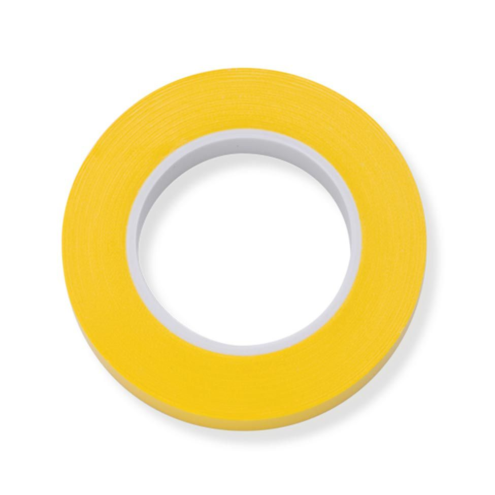 ROLO DE FITA COLORIDA 9,52MM AMARELO 1 PC/EMB
