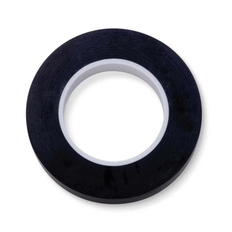 ROLO DE FITA COLORIDA 9,52MM PRETO 1 PC/EMB