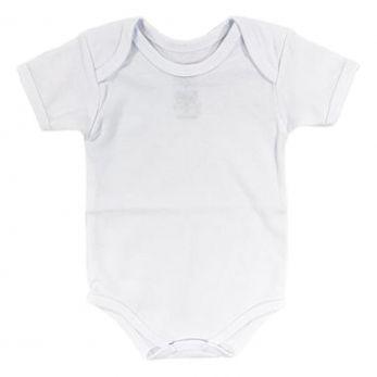 Body Bebê Manga Curta Piu Blu