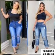 Calça Jeans Feminina Moon com Cinto