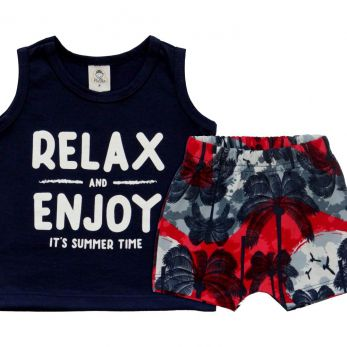 Conjunto Regata Relax & Enjoy