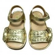 Sandália Infantil Feminina Dourada